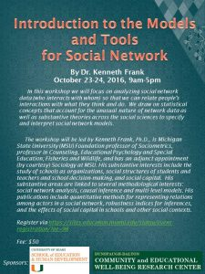 social network workshop flyer 10_23_2016