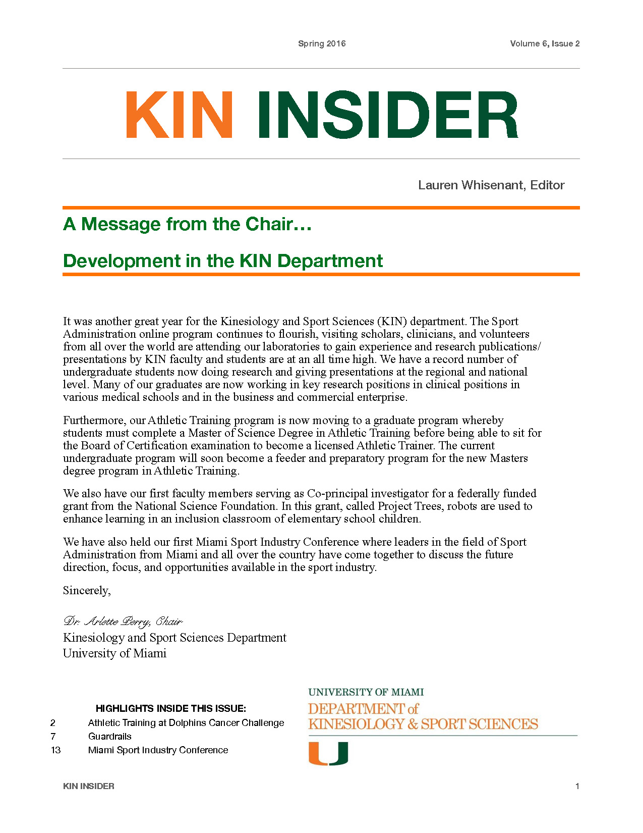 KIN_Newsletter_Fall_2016