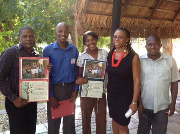 Dr. Guerda Nicolas Honored with Humanitarian Award