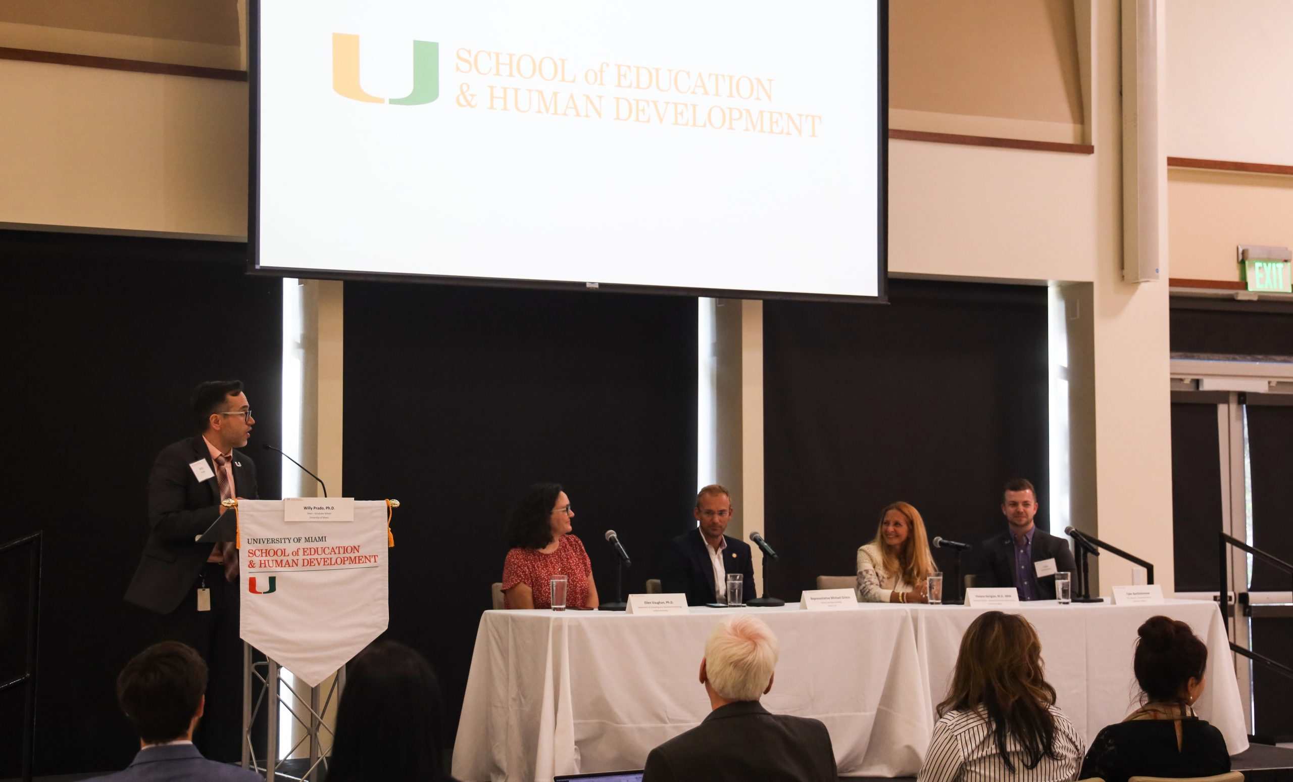 University of Miami School of Education and Human Development Leads Panel on Tackling the Opioid Epidemic